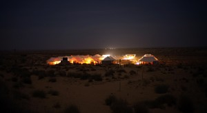 Desert camps of India